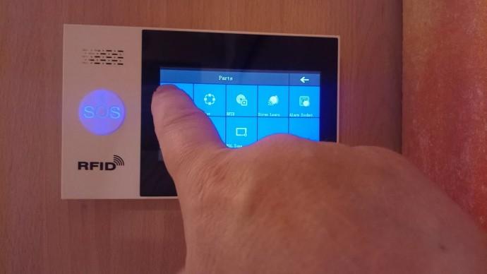 СО: GSM WiFi сигнализация PG107 обзор лучшей системы на сегодня.PG 107 Alarm System - видео