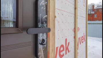 Умный дом: Установка умного замка Xiaomi во входную дверь #Shorts - видео