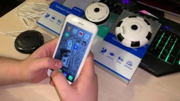 Умный дом: Видеоинструкция по подключению панорамных потолочных Wi-Fi камер - видео