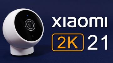 Камера Xiaomi Mi Camera 2K с магнитным креплением для умного дома - видео
