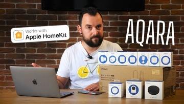 Умный дом: Умный дом Apple HomeKit. Smart Home Aqara Hub (+Google Home) - видео