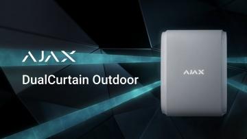 СО: Ajax DualCurtain Outdoor: защита периметра вашего имущества - видео