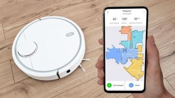 Умный дом: Как подключить робот пылесос Xiaomi к телефону - видео