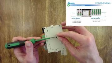 ПЛК: Краткий обзор и распаковка контроллера управления движением DVP50MC11T - видео