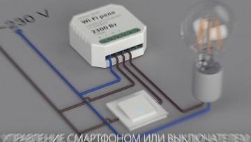 Умный дом: Wi-Fi реле Elektrostandard WF002 - видеообзор - видео